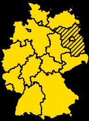 Bundesland Brandenburg Karte