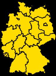 Bundesland Saarland Karte